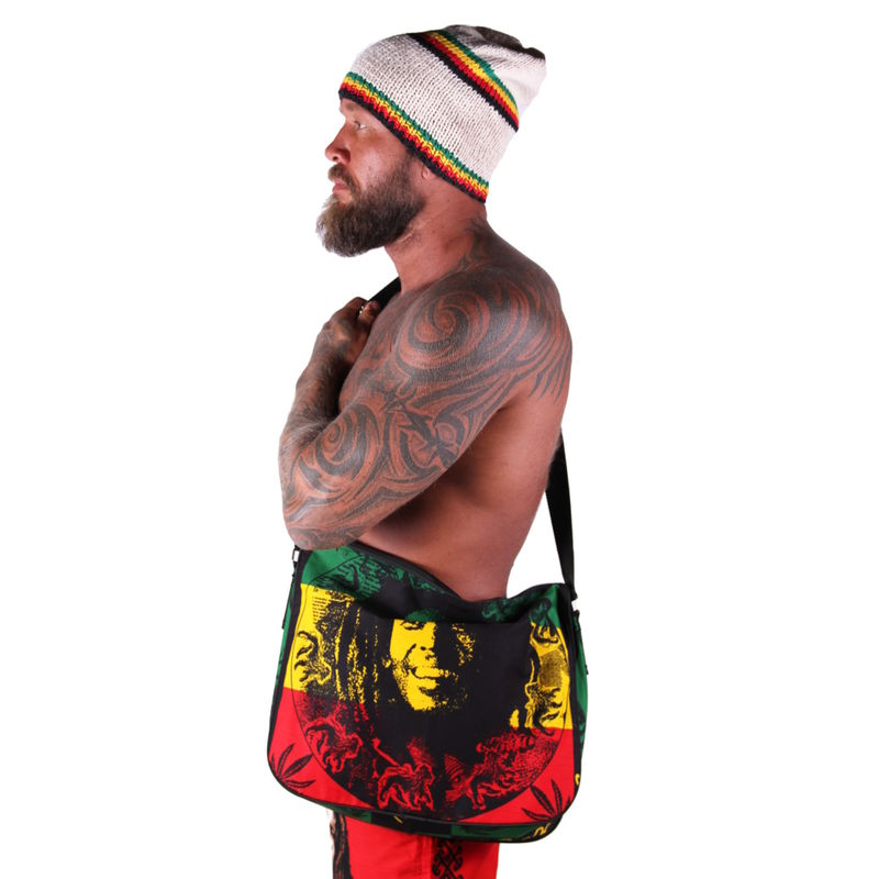 Bob Marley Circle - Shoulder bag