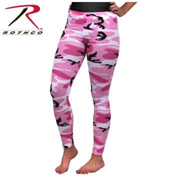 Rotcho Pink Camo - Leggings