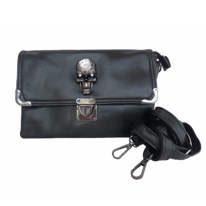 Gothx Skull Head Crystal - Clutch