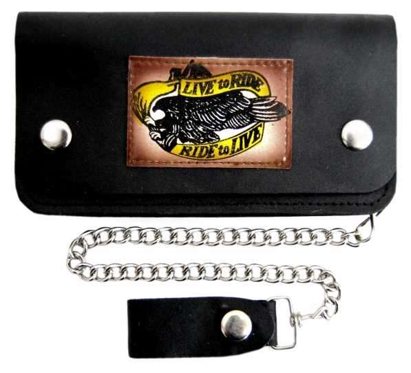 Live to Ride II - Leather wallet