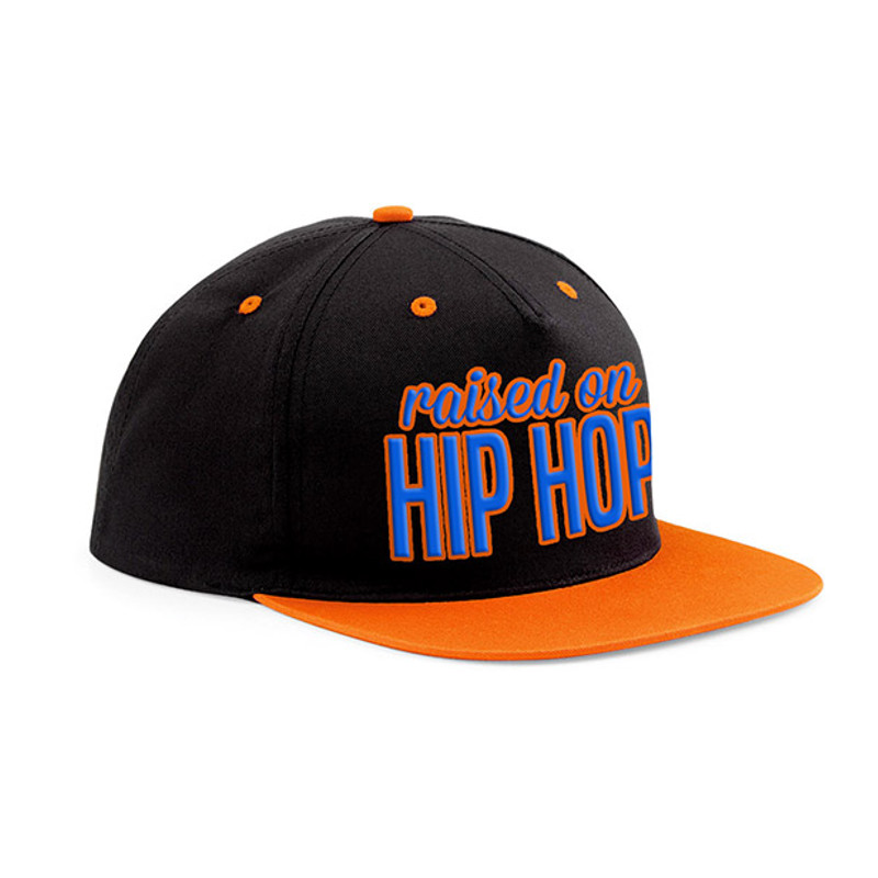 Raised on Hip Hop - Snapback, colorful