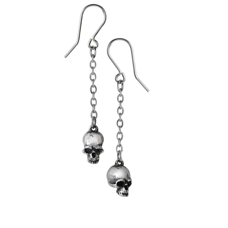 Alchemy Gothic Deadskulls - Earrings