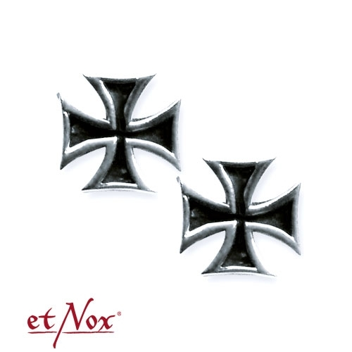 etNox Iron Cross - Earrings