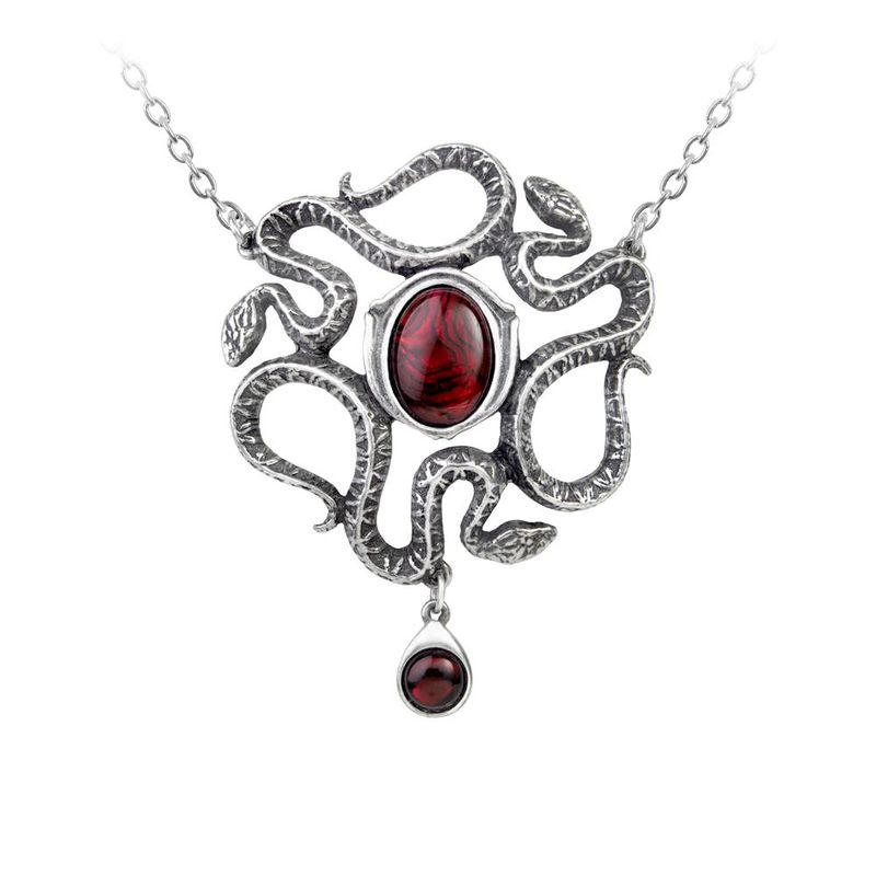 Alchemy Gothic Serpents Eye - Necklace