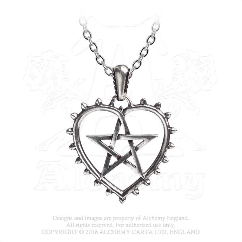 Alchemy Gothic Cunning Heart - Necklace