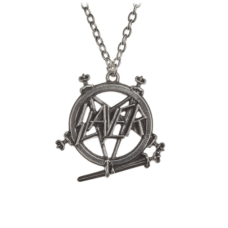 Alchemy Gothic Slayer: Pentagram Logo - Necklace