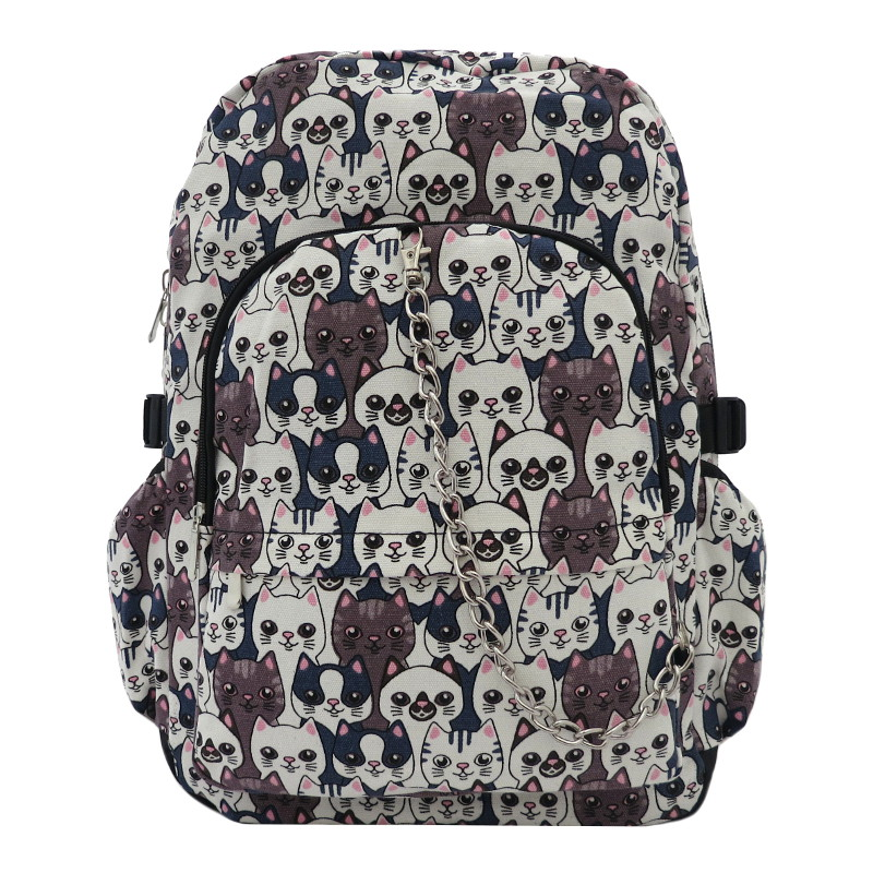 Chok Smiling Cats - Backpack