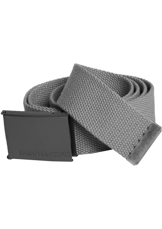 Urban Classics - Canvas belt, grey