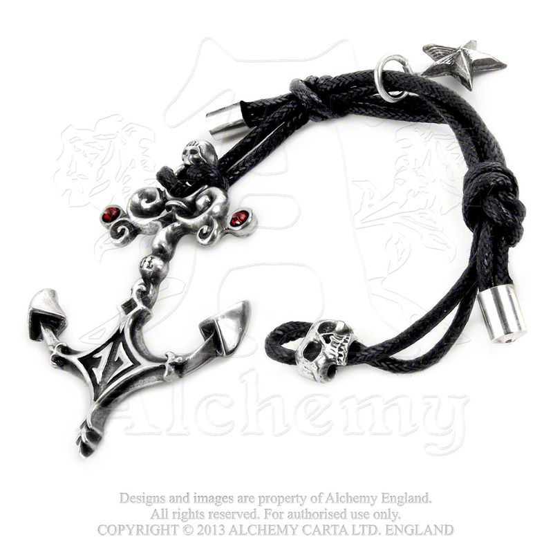 Alchemy Gothic Sailors Pledge - Bracelet