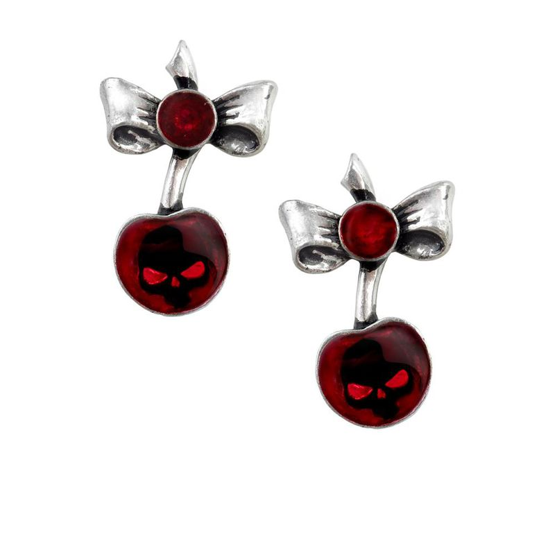 Alchemy Gothic Black Cherry - Earrings