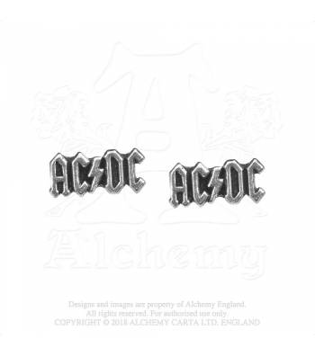 Alchemy Rocks AC/DC Logo  - Earrings