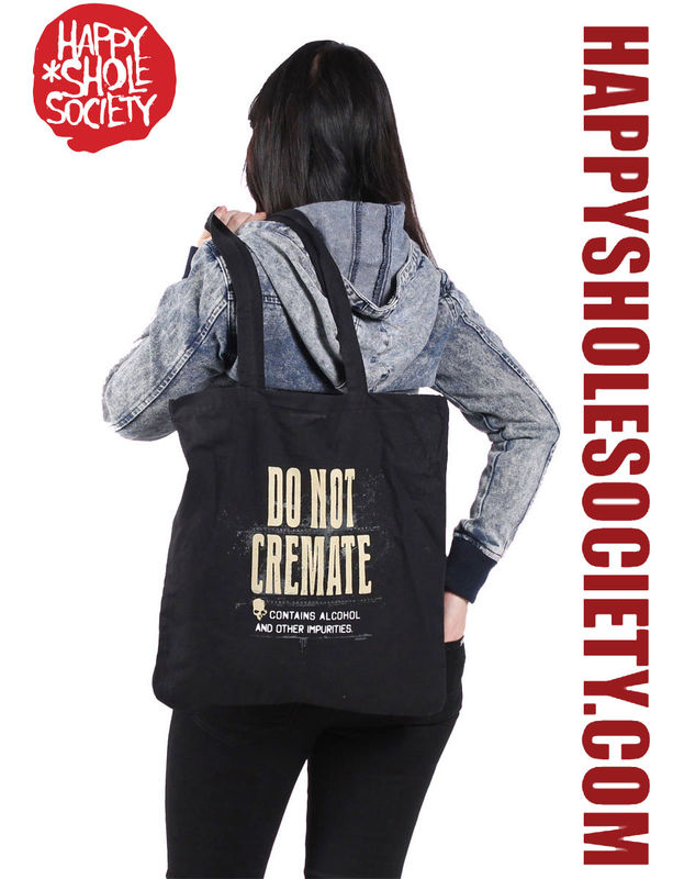 Do Not Cremate - Tote bag