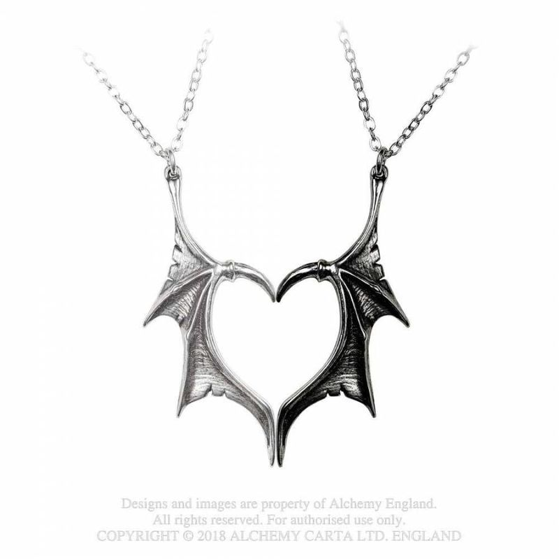 Copy of Alchemy Gothic Wounded By Love - Necklace