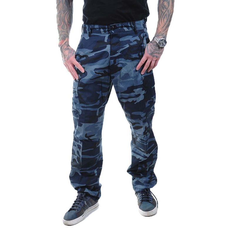 Rothco Color Camo - Cargo Pants, midnight blue